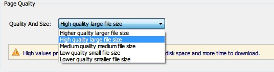 how to save a pdf smaller in size
