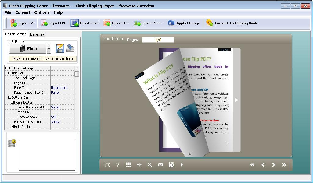 Pdf to flash page flip скачать бесплатно
