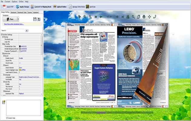 Flash Magazine Software for Mac