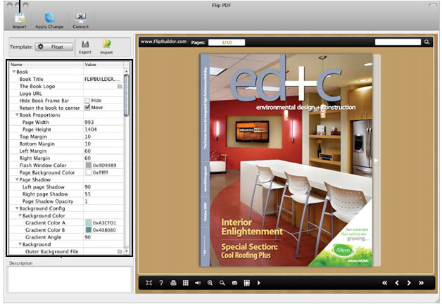 Flip Pdf Mac Creates Flash Page Flip Pdf And Flipping Book On Mac