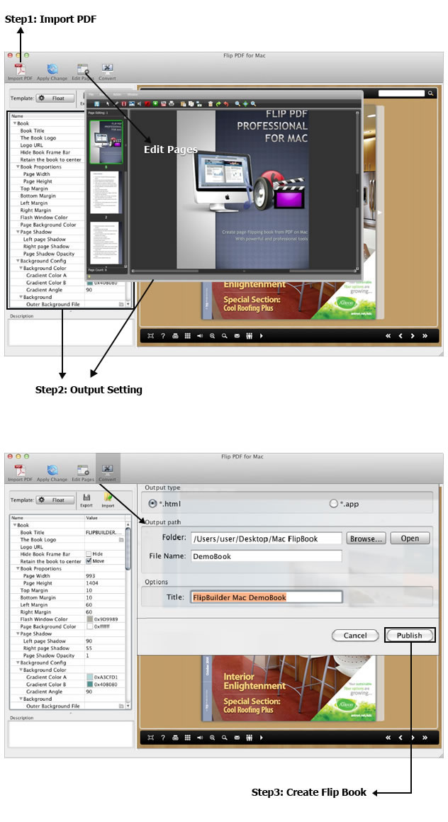 Professional Mac Page Flip Software To Create Flipping Book