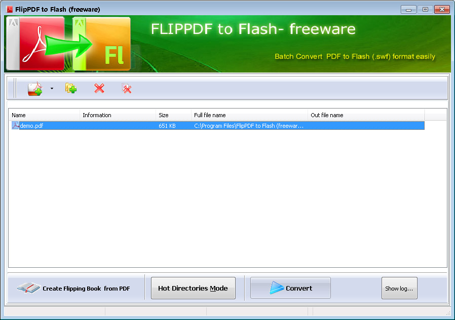 Free FlipPDF to Flash Converter- 100% freeware to create