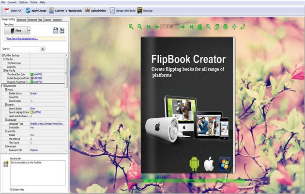 Windows 7 Flipbook Converter for iPad 3.8.5 full