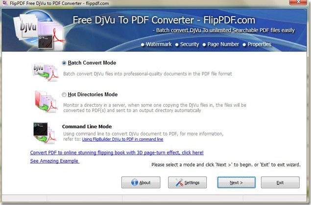 convert djvu to pdf software free download