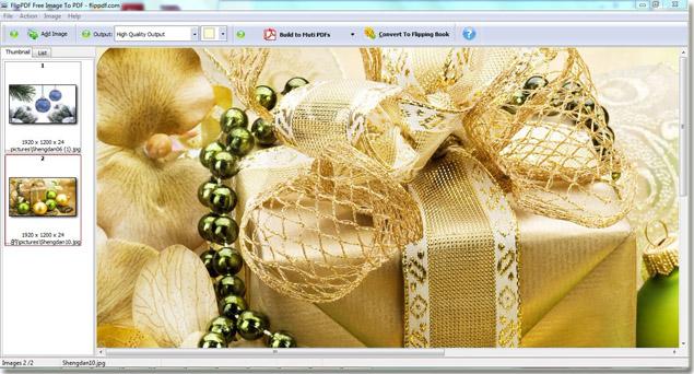 FlipPDF Free Image to PDF