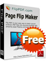 Free Page Flip Book Maker- 100% free to create realistic flash page