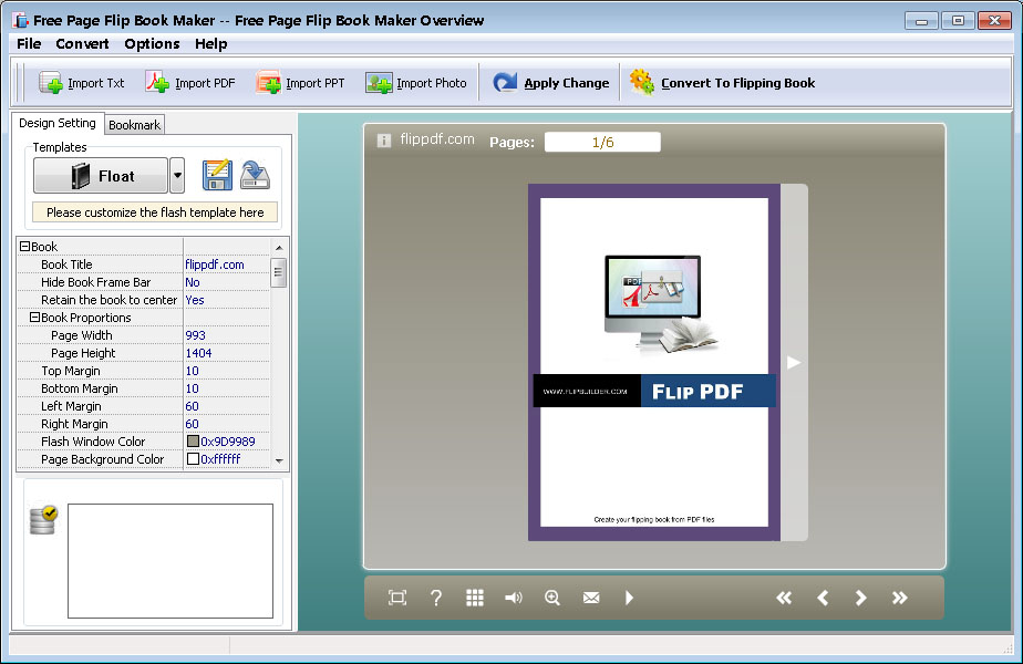 free page flip book maker 100 free to create realistic flash page