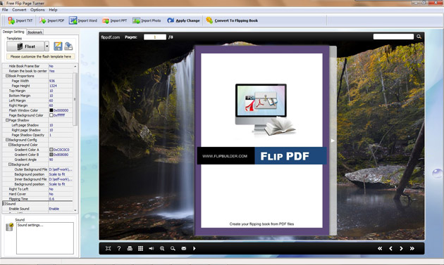 Free Flip Page Turner full screenshot