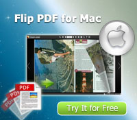 Hot Flip PDF software - Flip PDF for Mac to create flip book on Mac