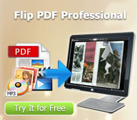 hot Flip PDF software - Flip PDF Pro to create flip book with video, audio, flash etc.