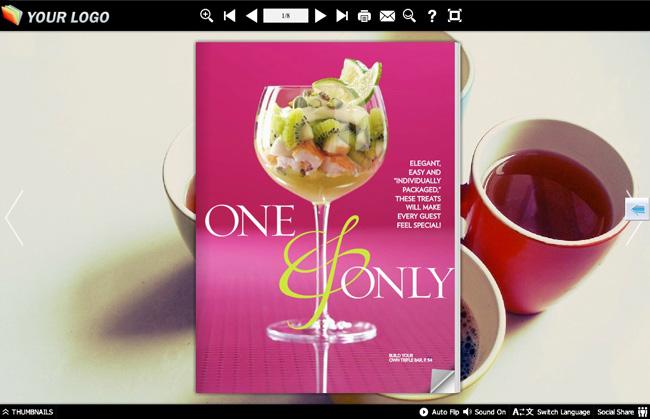 free pdf to flash flip book software